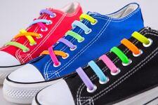 1Set Silikon Schnürsenkel elastisch Senkel Schuhband no tie shoe lace Silicon PD