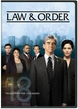Law & Order: The Eighteenth Year [New DVD] Boxed Set, Snap Case