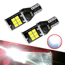 2x New 912 921 LED Backup Light High Power T15 W16W Back Up Lights Reverse Bulbs