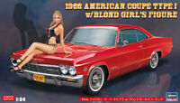 Hasegawa 1/24 1966 American Coupe (Chevrolet Impala SS) Type 1 New