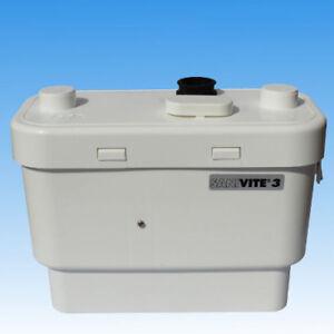 SFA Sanivite 3  Schmutzwasserhebeanlage Badewanne Spülmaschine Waschmaschine