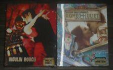 Moulin Rouge & Romeo+Juliet - BLU-RAY - Steelbook. Blufans. New & Sealed.