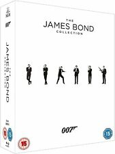 The James Bond Collection 1-24 (Blu-ray, 24 Discs, Region Free) *NEW/SEALED*