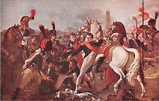 POSTCARD    MILITARY   NAPOLEON   Wounded near Ratisbonne