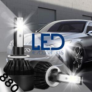 XENTEC LED HID Foglight Conversion kit 881 6000K for 2004-2007 Chevrolet Optra