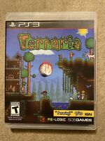 Terraria Complete CIB W/ Manual Sony PlayStation 3 PS3Video Game