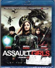 Assault Girls Blu-ray Rinko Kikuchi Meisa Kuroki Hinako Saeki SEALED NEW