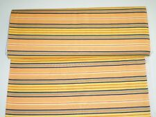 Lakehouse New Awning Stripe Fun Flowers Cotton LH 04002 Sewing,Craft,Quilt, BTY
