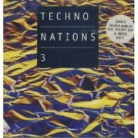 Techno Nations 3 (1995) Planetary Assault Systems, Spira, Bandulu, DJ Hel.. [CD]