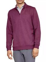 Under Armour Mens ColdGear Storm 1/4 Zip Fleece Pullover Long Sleeve Sweater XL