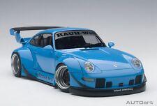 1/18 AUTOART - Porsche 993 ( RWB ) ( Azul/gungrey ruedas)