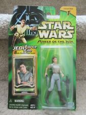 Star Wars Power of the Jedi Action Figure Leia Organa General Endor 2000