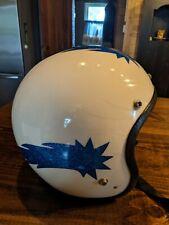 Vintage Metal flake Helmet