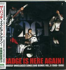 The Badge - Is Here Again! CD RARE TRACKS Vol.3 1980-86 Shamrock Japan Mod Pop