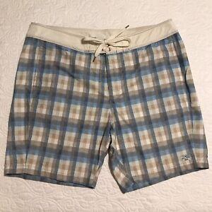 "Tommy Bahama Relax Plaid Board Shorts Men's Size 40 Swim Trunks  9"" Inseam Nice!"