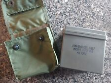 Vintage US Military Individual First Aid Kit Plastic Box Insert Medical Supplies