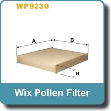 NEW Genuine WIX Replacement Pollen Filter WP9230