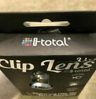 I-total, 3 In 1 Clip Lens, Universal Clip-On Lens System, Brand New Never Used