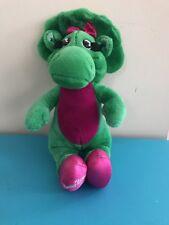 Vintage 1992 Barney and Friends Baby Bop Plush Stuffed Dnosaur Triceratops Lyons