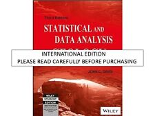Statistics and Data Analysis in Geology by John C. Davis