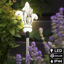 LED solar exterior Steck jardín lámpara iluminación pincho de tierra Park bala lámpara blanco
