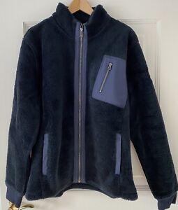 Belstaff Fleece Jacke blau Gr. XL