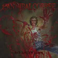 Cannibal Corpse - Red Before Black LP - Opaque 700 RED COLORED VINYL Death Metal