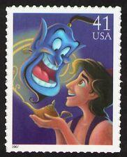 US. 4195. 41c.  Aladdin and Genie. The Art of Disney: Magic. Mint. NH. 2007