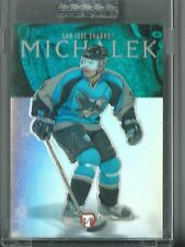 2003-04 TOPPS PRISTINE MILAN MICHALEK RC COMMON REFRACTOR ROOKIE SP /499 #110