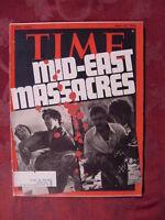 TIME magazine May 27 1974 5/27/74 MIDEAST MASSACRES