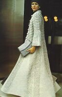 """Ladies Evening/Wedding Coat Crochet Pattern in DK 32-38""""  870"""
