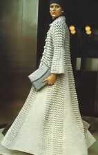 "Ladies Evening/Wedding Coat Crochet Pattern in DK 32-38""  870"