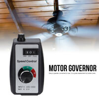 220V-240V Electronic Stepless Speed Motor Switch Fan Heater Control Controller