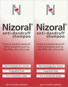 Anti Dandruff Scalp And Inflammation Relief Shampoo - 100ml x 2