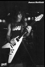 METALLICA POSTER James Hetfield RARE HOT NEW 24x36 - PRINT IMAGE PHOTO