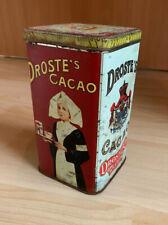 Schöne Alte Cacaodose Blechdose Kakao Droste Holland original Tin Box