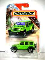 Matchbox 1:64 '18 JEEP WRANGLER JL UNLIMITED Diecast Model Collection TOY CAR