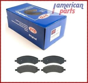 FRONT BRAKE PADS FOR DODGE RAM 1500 PICKUP 2006 - 2016 2007 2008 2009 2010 2011
