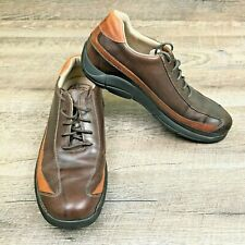 ROCKPORT Men's Brown Leather Casual DMX Comfort Shoes Size 10.5