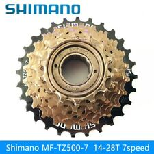 SHIMANO MF-TZ500 Bicycle Freewheel Mountain Bike 7 Speed Cassette Variable14-28T