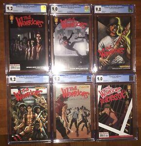 The Warriors - Movie Adaptation Comic Books #1,2,3,4,5 & Jailbreak -CGC 9.0 &9.2