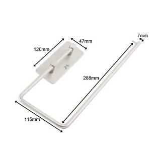3M 304 Stainless Steel Toilet  Kitchen Tissue Paper Towel Roll Holder RV Stand