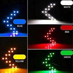Pair 14SMD LED Turn Signal Light Car Rear View Mirror Arrow Panels Indicator