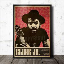 Gary Clark Jr Blues Art Poster Howlin' Wolf Lead Belly Muddy Waters