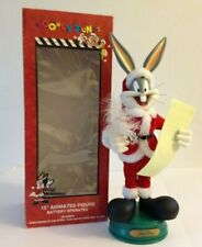 "Looney Tunes Bugs Bunny 15"" Animated Figure Battery Operated  Warner Bros 1997"