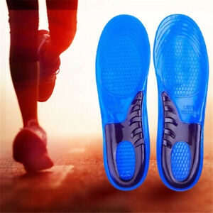 Sports Running Shoe Insoles Shock Absorb Olympic Inner Sole Arch Sports Unisex