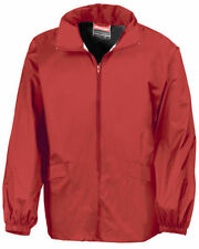 Result Nylon Raincoats Zip Neck Coats & Jackets for Men