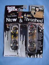 2009 Tech Deck  Tony Hawk Birdhouse NEW & TRASHED Finger board Skateboard