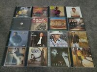 Country Music Cd Lot  of 16 George Strait, Brooks & Dunn Alan Jackson & more -Z6