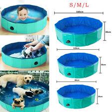 Piscina para Perros Mascotas Portable Bañera Múltiple Natación 80cm/120 cm/160cm